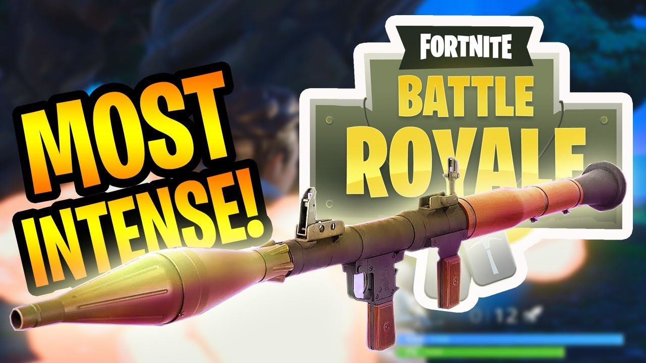 The Most Intense Game Fortnite Battle Royale Gameplay Youtube