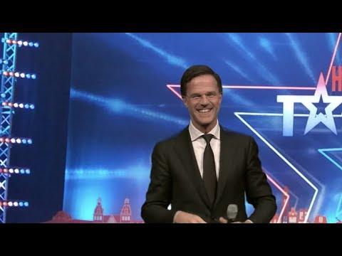 Rutte bij Holland's Got Talent!