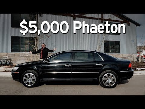 Bought A Cheap VW Phaeton - Big Sedan Challenge | Everyday Driver
