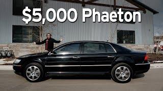 Bought a Cheap VW Phaeton - Big Sedan Challenge | Everyday Driver