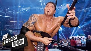 Video WrestleMania moments of Royal Rumble Match winners: WWE Top 10 download MP3, 3GP, MP4, WEBM, AVI, FLV September 2018