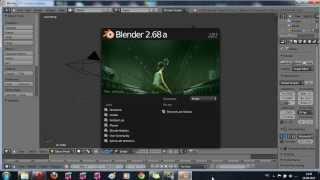 Создание игры в (BGE) Blender Game Engine - урок 1