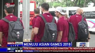 Para Atlet Asian Games 2018 dari 20 Negara Tiba di Jakarta