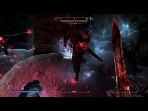 Skyrim Special Edition - Dawnguard - Dimhollow Crypt: Vampire Crossbow Combat, Enchant Armor (2016)
