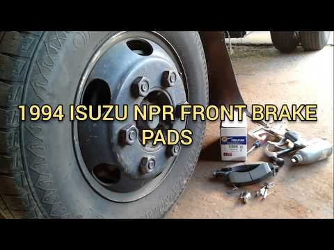 How to replace BRAKE pads on a 1994 ISUZU npr