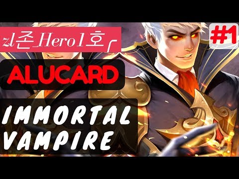 Immortal Vampire [Rank 2 Alucard] | Alucard Gameplay and Build By  zl존_Hero1호╭  Mobile Legends