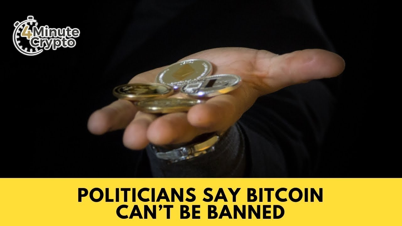 Bitcoin cannot be banned