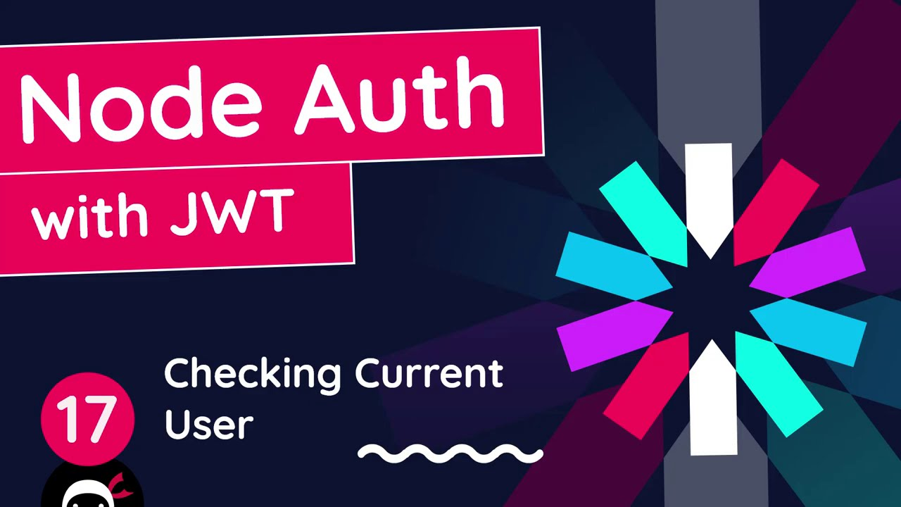 Node Auth Tutorial (JWT) #17 - Checking the Current User