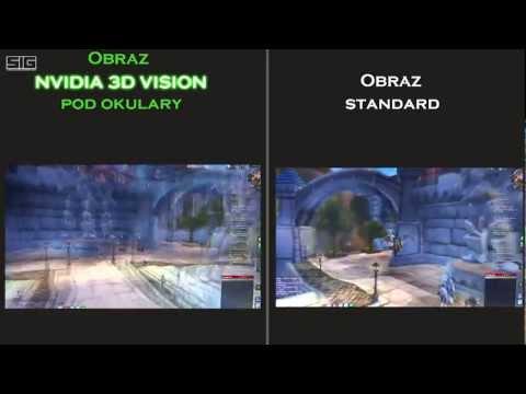 World of Warcraft Test Nvidia 3D VISION