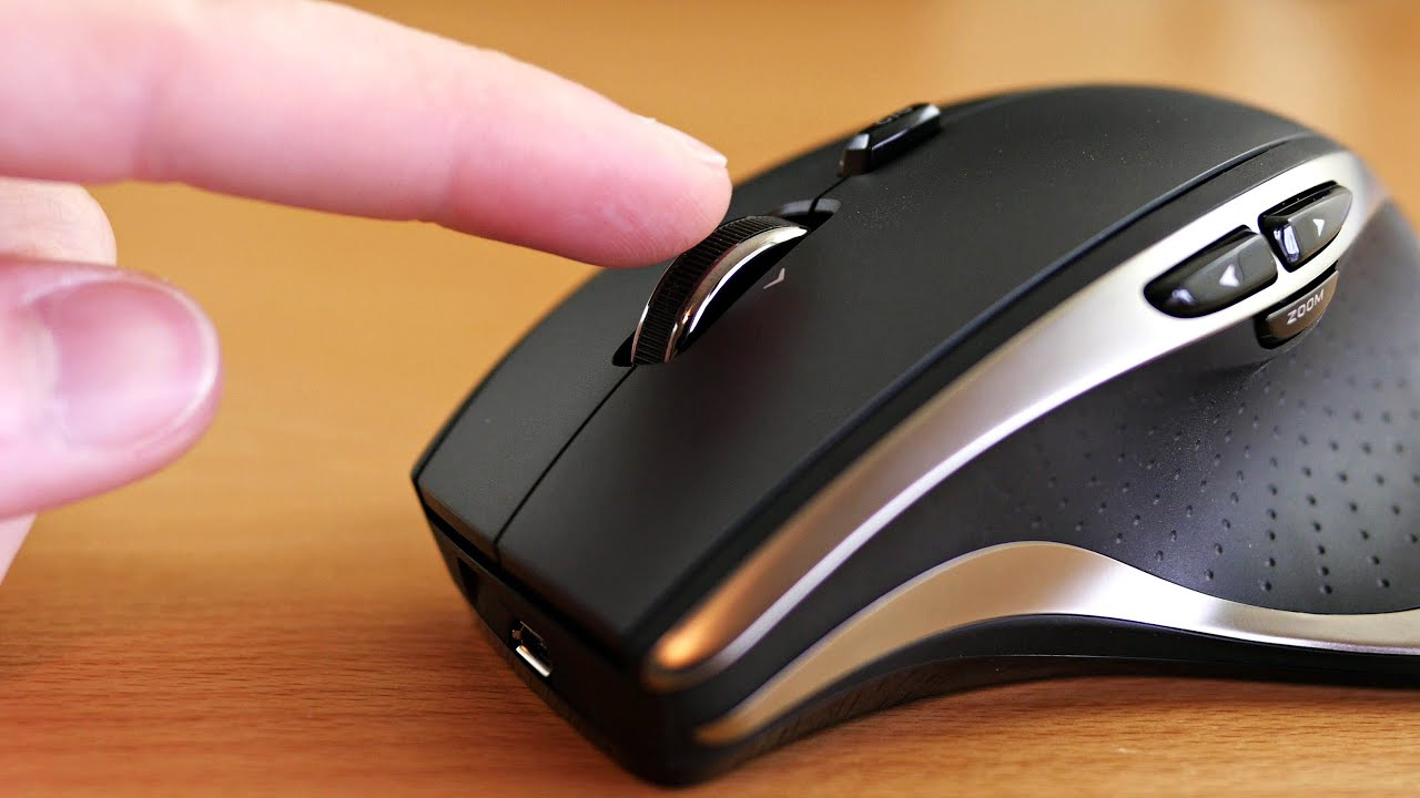 best wireless mouse  logitech performance mx review