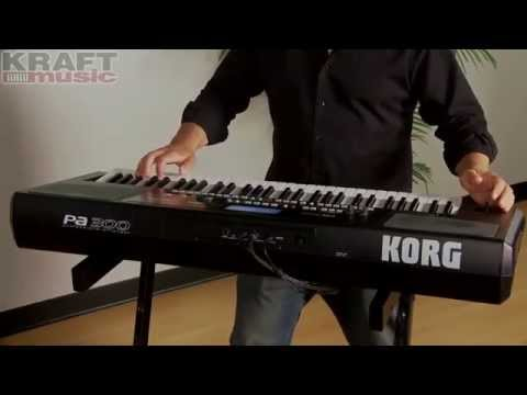 Kraft Music - Korg Pa300 Professional Arranger Demo with Rich Formidoni