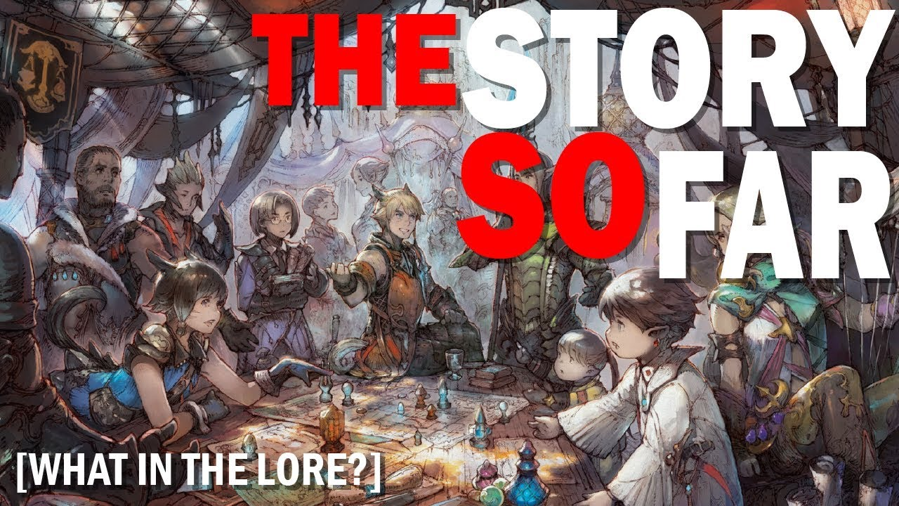 FFXIV The Story So Far | Story Summary and what you need to know for  Shadowbringers Part #1
