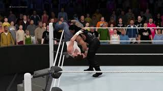 WWE 2K16 (PS4) - Survivor Series: Roman Reigns vs Dean Ambrose (World Heavyweight Championship)