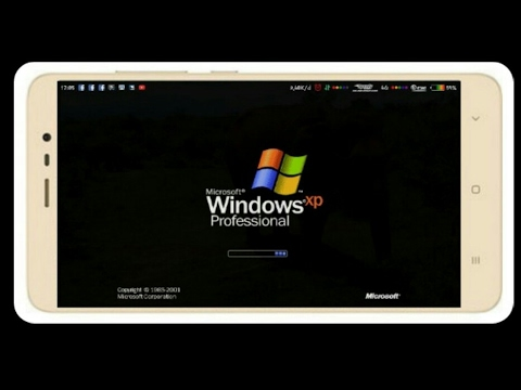 I run Windows XP on android without root
