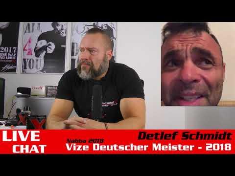 Frag Markus - Live Chat mit Detlef Schmidt Vize Deutscher Meister Nabba