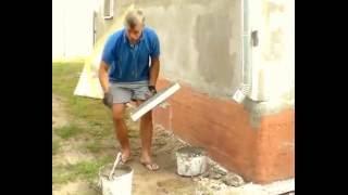 Армирование сеткой. Как армировать сеткой. Как утеплить дом. Короед. Утепление. Днепр. Киев(Здравствуйте! Можете посмотреть ещё одно видео, которое я считаю хорошим. https://youtu.be/lBa7K9beDZU А вообще, мы, в..., 2013-08-29T18:38:53.000Z)