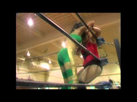 Davina Rose vs. Brittany Wonder 4/21/12