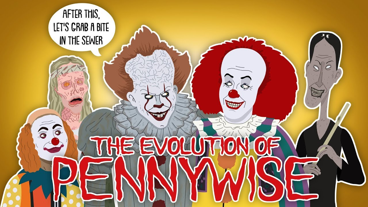 Download The Evolution Of Pennywise / IT (Animated)