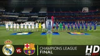 Real Madrid   VS Barcelona Champions league Final (FIFA 19)    GamePlay