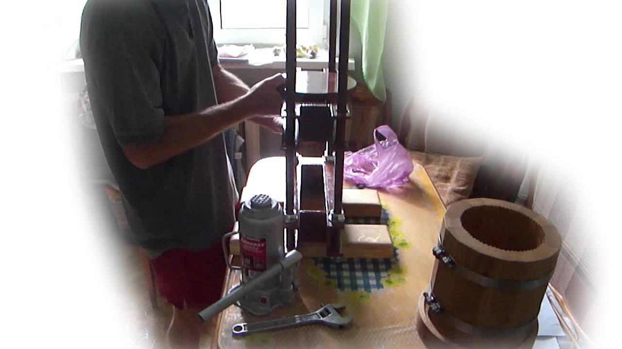Пресс для отжима подсолнечного масла своими руками фото 527