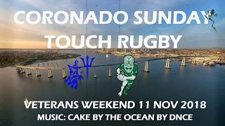 Coronado Veterans Weekend Sunday Touch Rugby