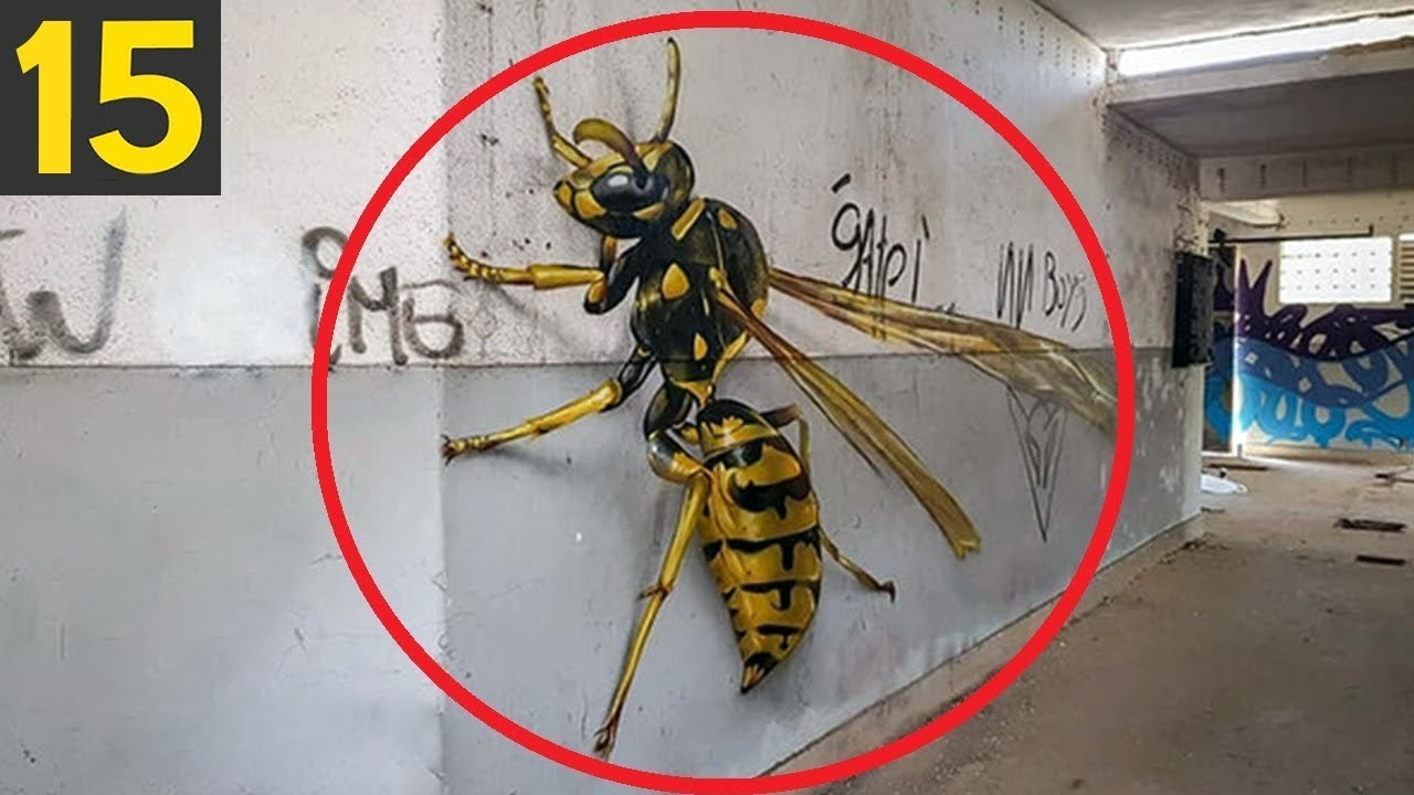 15 GIANT INSECTS that can Kill
