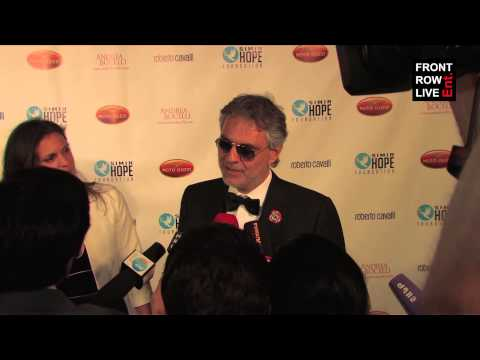 Andrea Bocelli interview