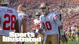 Joe Montana On Jimmy Garoppolo Hype: 'Take Your Foot Off The Gas' | SI NOW | Sports Illustrated