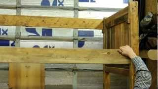 Lonepine Lodgepole Bunk Bed Assembly
