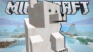minecraft   pet polar bear   custom command