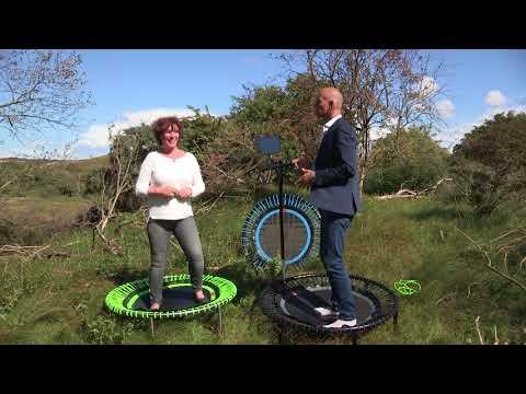 Trampolines op het werk - bellicon bij RTL4 Life is Beautiful