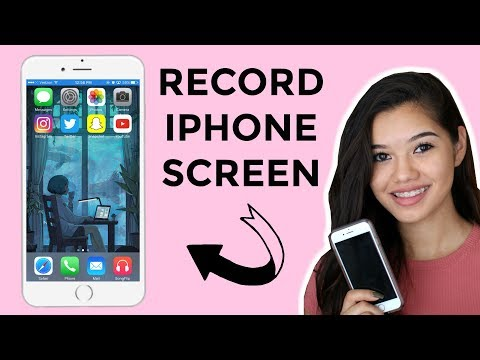 how to RECORD YOUR IPHONE SCREEN (works July 2017)