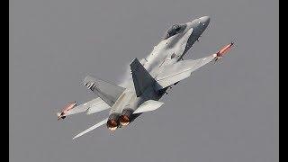 RIAT 2018  FINNISH AIR FORCE F-18C HORNET