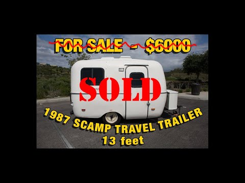1987 Scamp Travel Trailer For Sale Casita Boler Trailer