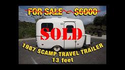 1987 Scamp Travel Trailer For Sale Casita Boler Trailer