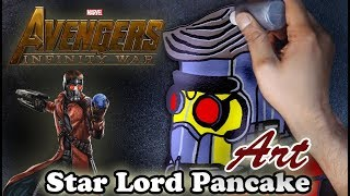 Avengers Infinity War | Star Lord | Pancake Art - Part 3