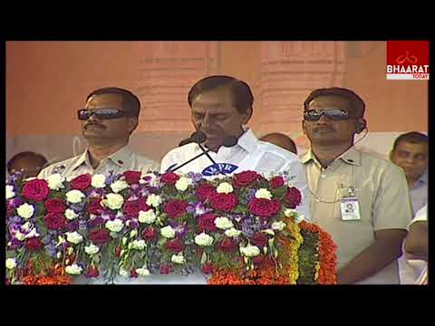 CM KCR Live Speech At Kakatiya Mega Textile Park Lays Foundation Live |  Bhaarat Today