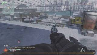 Knife Only Tactical Nuke MW2 Multiplayer Challenge (Kill em all)