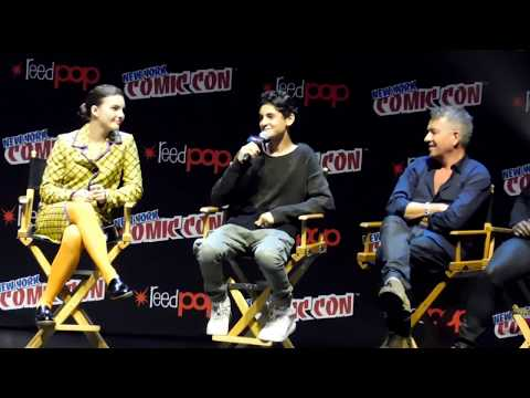 Gotham season 4 panel @ NYCC 2017 (Ben McKenzie, Robin Lord Taylor, David Mazouz)