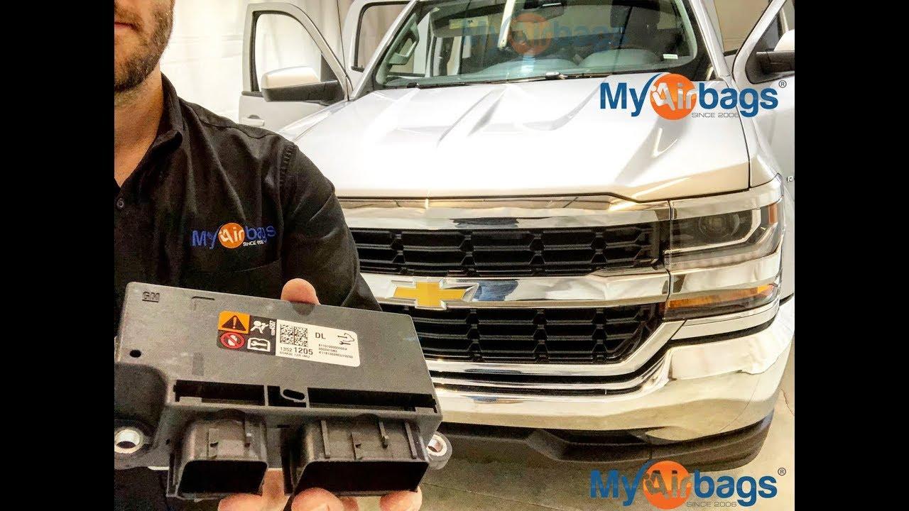 CHEVY SILVERADO - AIRBAG SDM MODULE LOCATION & B0051 Reset - MyAirbags com