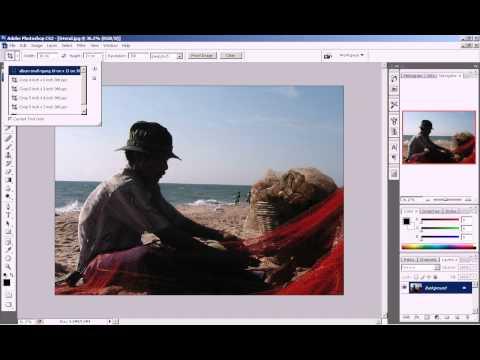 Photoshop CS3 - Phan 1 - Bai 4 - Cat cup anh theo moi yeu cau