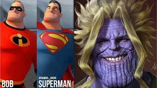 30+ Hilariously Funny 🔥SUPERHERO🔥 Comics - Marvel & DC - 35. Watch Till The End.