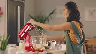 KitchenAid Artisan Series 5 Quart Tilt Head Stand Mixer video