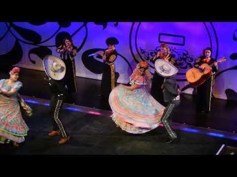 Mexican Ballet - Coco pre show.