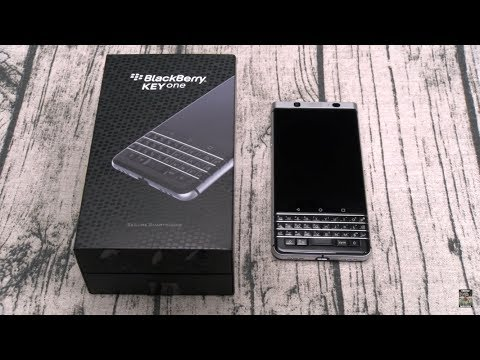 Blackberry KEYone Unboxing And First Impressions