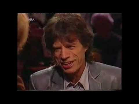 Mick Jagger about Bob Dylan's voice.