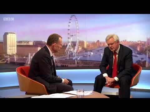 David Davis: No deal means no money for the EU
