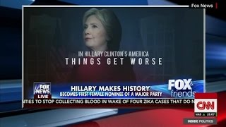 Trumps new campaign ad and how Clinton combats it