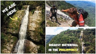 BIGGEST WATERFALL With Best View In The PHILIPPINES? (Not Tourist Spot)