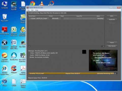 record from camera to avi media encoder cs4.mp4